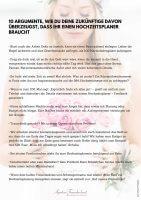 10-Punkte-Braut