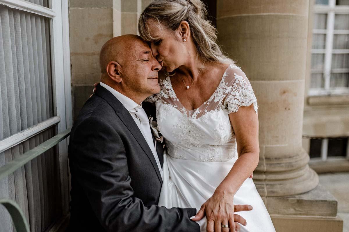 Paarshooting Hochzeit Schloss Monrepos