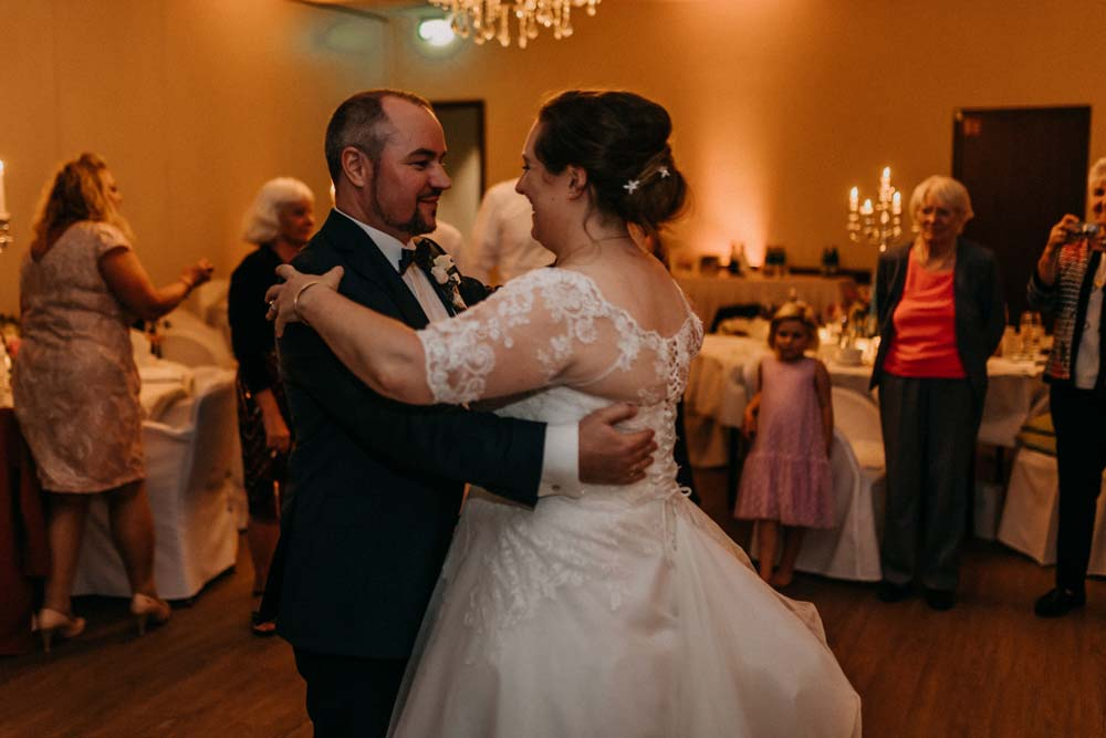 Hochzeit im Bayside