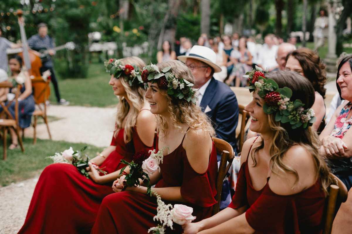 Brautjungfern Hochzeit Mallorca