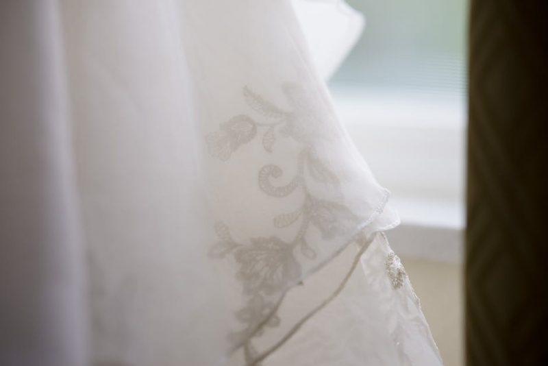 Brautkleid im Winter