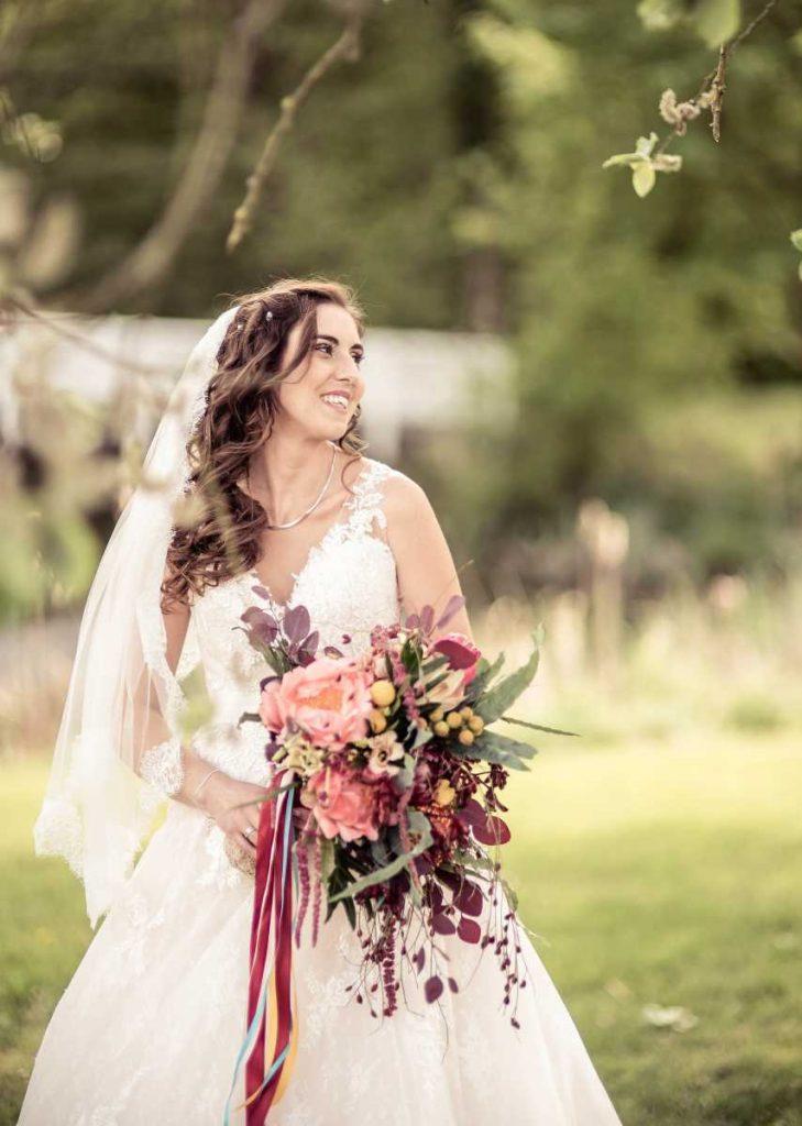Brautstrauß tropisch