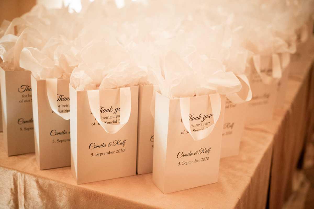 Geschenktüten für Hochzeitsgäste