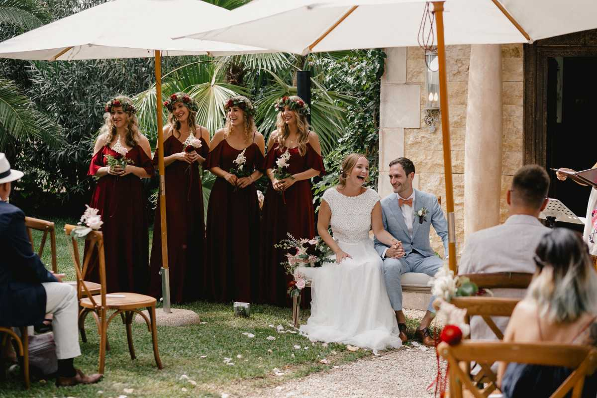 Hochzeitsgäste Mallorca