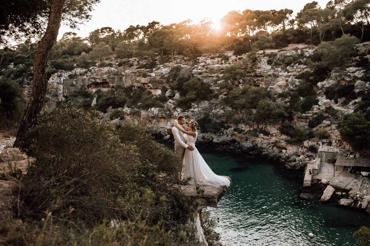 Meereshochzeit Mallorca