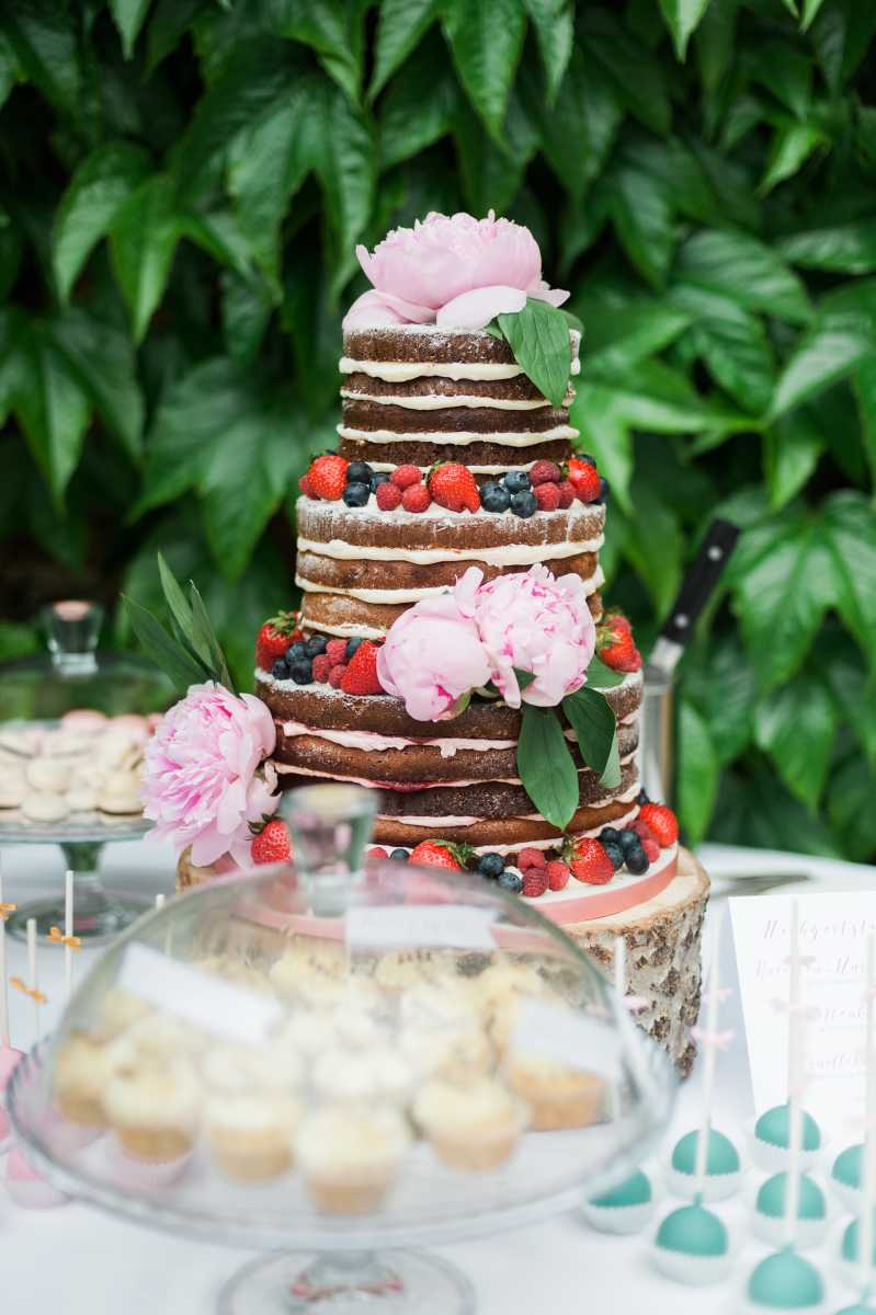 Naked Cake Boho