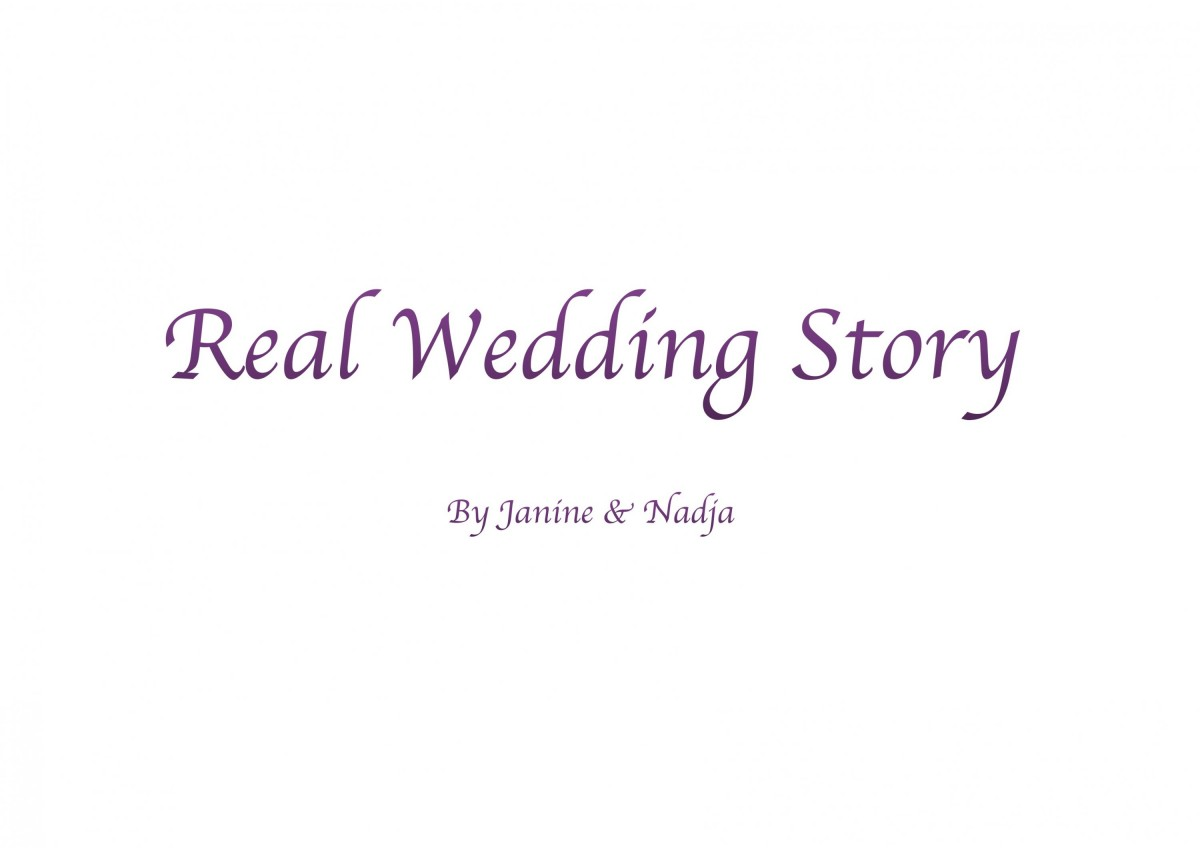 Real Wedding Story