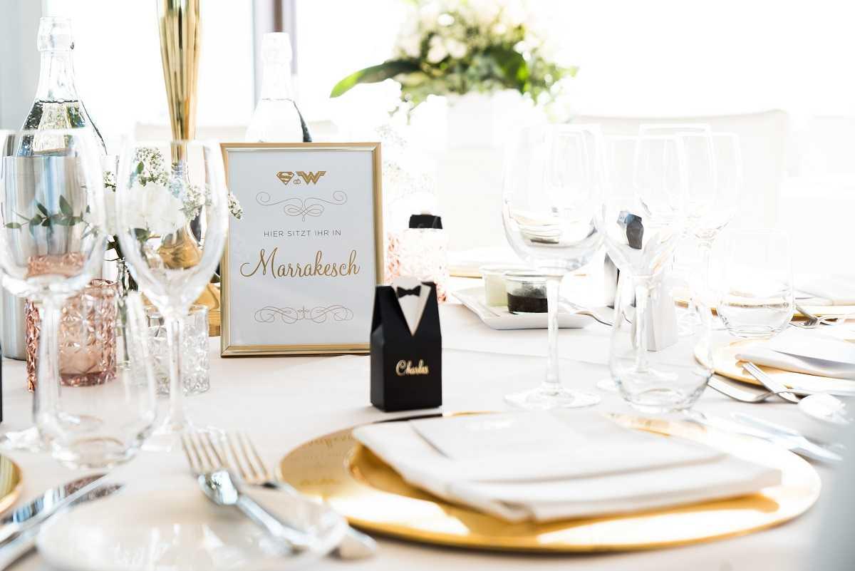 Tischdekoration Hochzeit Hamburg