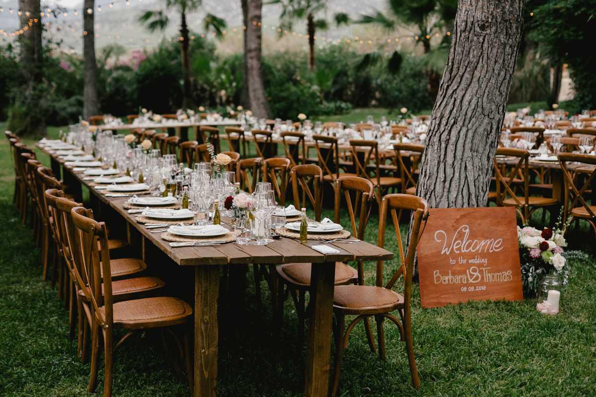 Tischdekoration Mallorca Hochzeitsplaner