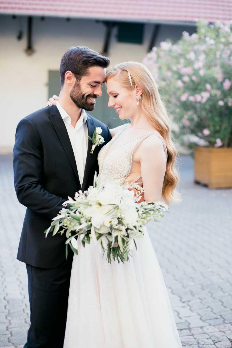 Brautpaar mediterrane Hochzeit