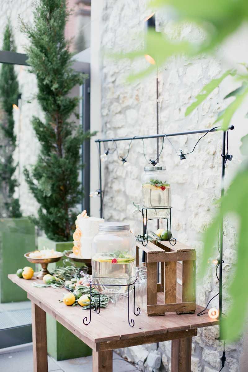 Sweet Table mediterrane Hochzeit