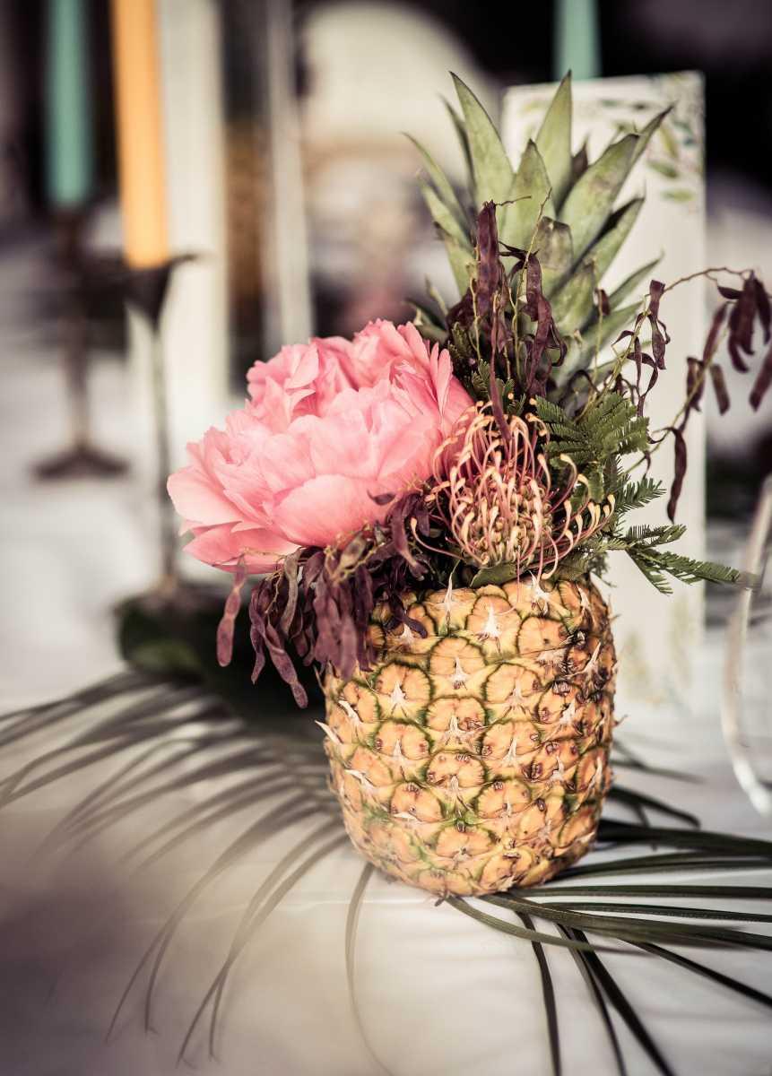 tropische Hochzeit in Mecklenburg